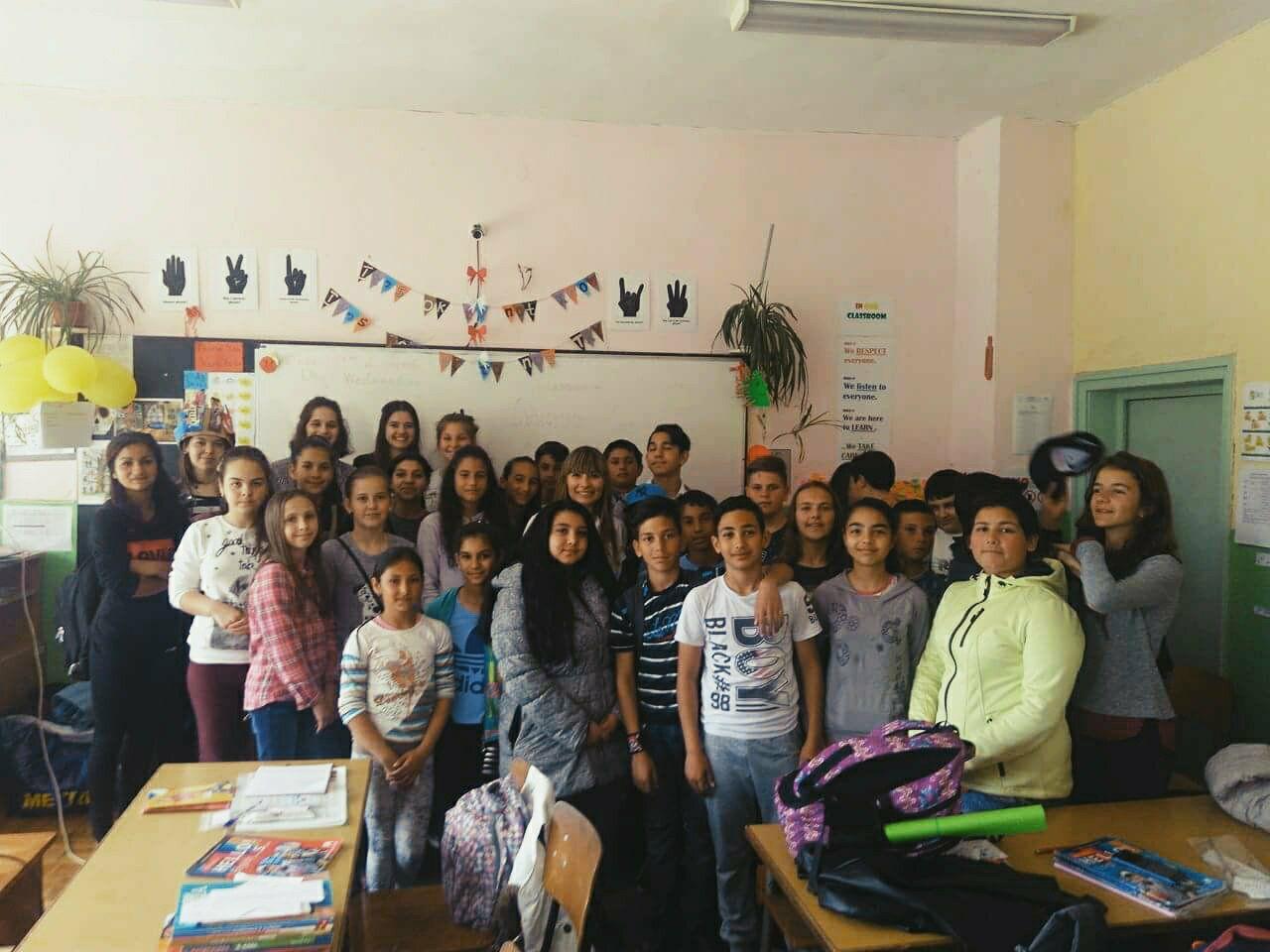 На училище с мисия : )