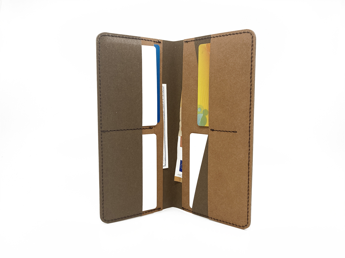 Eco paper clutch wallet (with free delivery)* - 8
