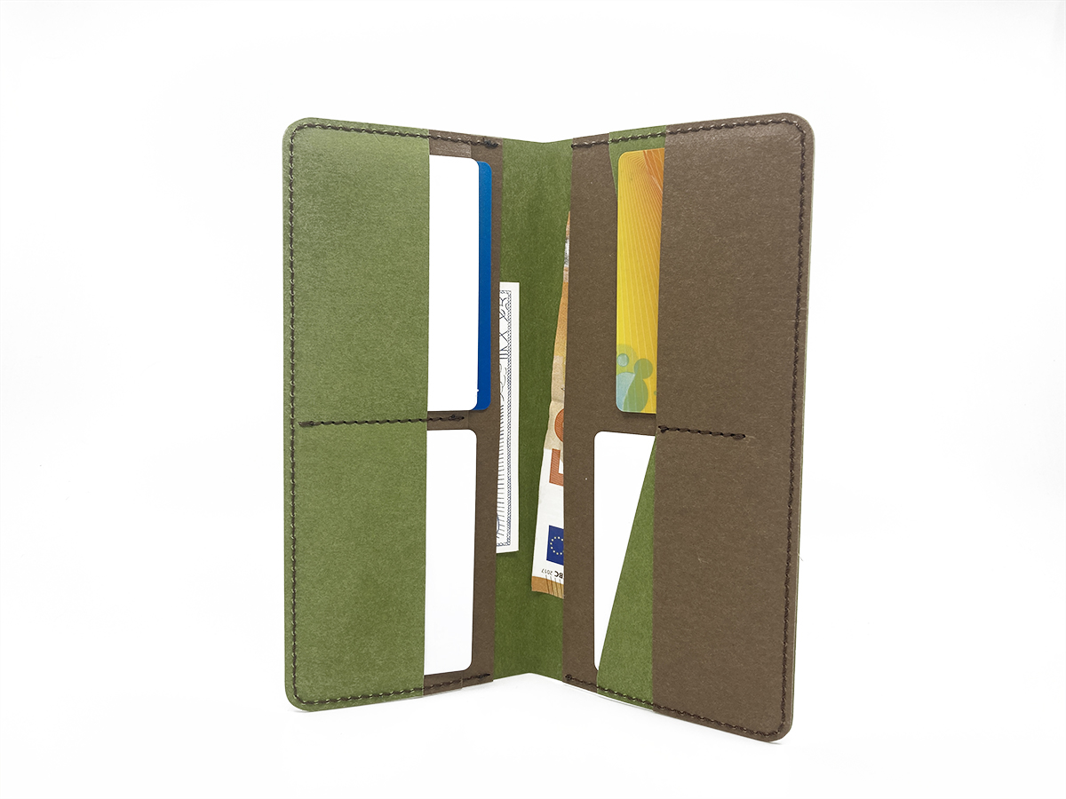 Eco paper clutch wallet (with free delivery)* - 2
