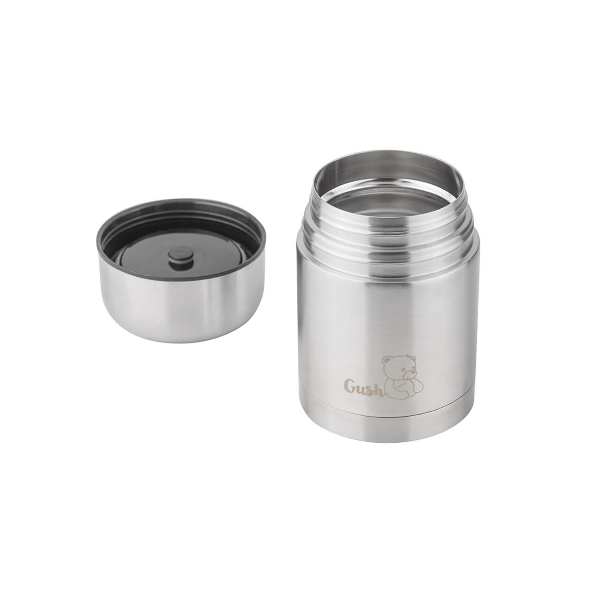 Стоманен термос за супа 600 ml-3