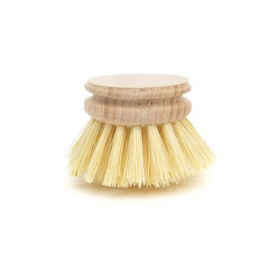 Natural wooden dish brush with a replaceable head - 2