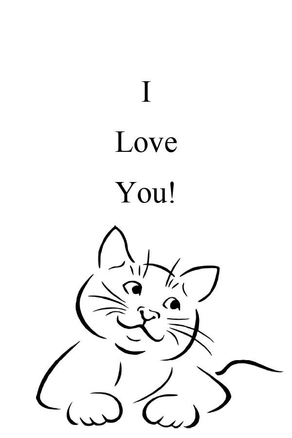 Картичка за засаждане Обичам те (със семена от мак)-2