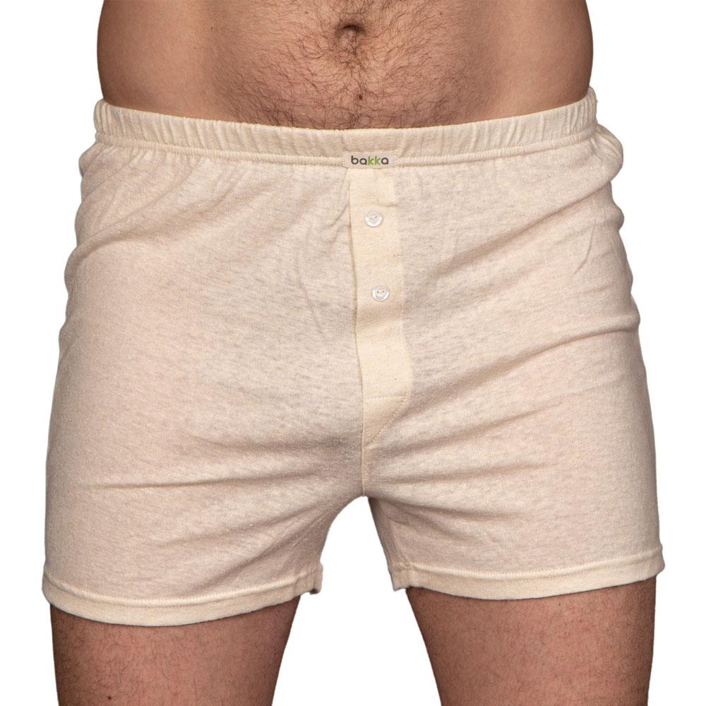 Мъжки боксерки от коноп и органичен памук-2