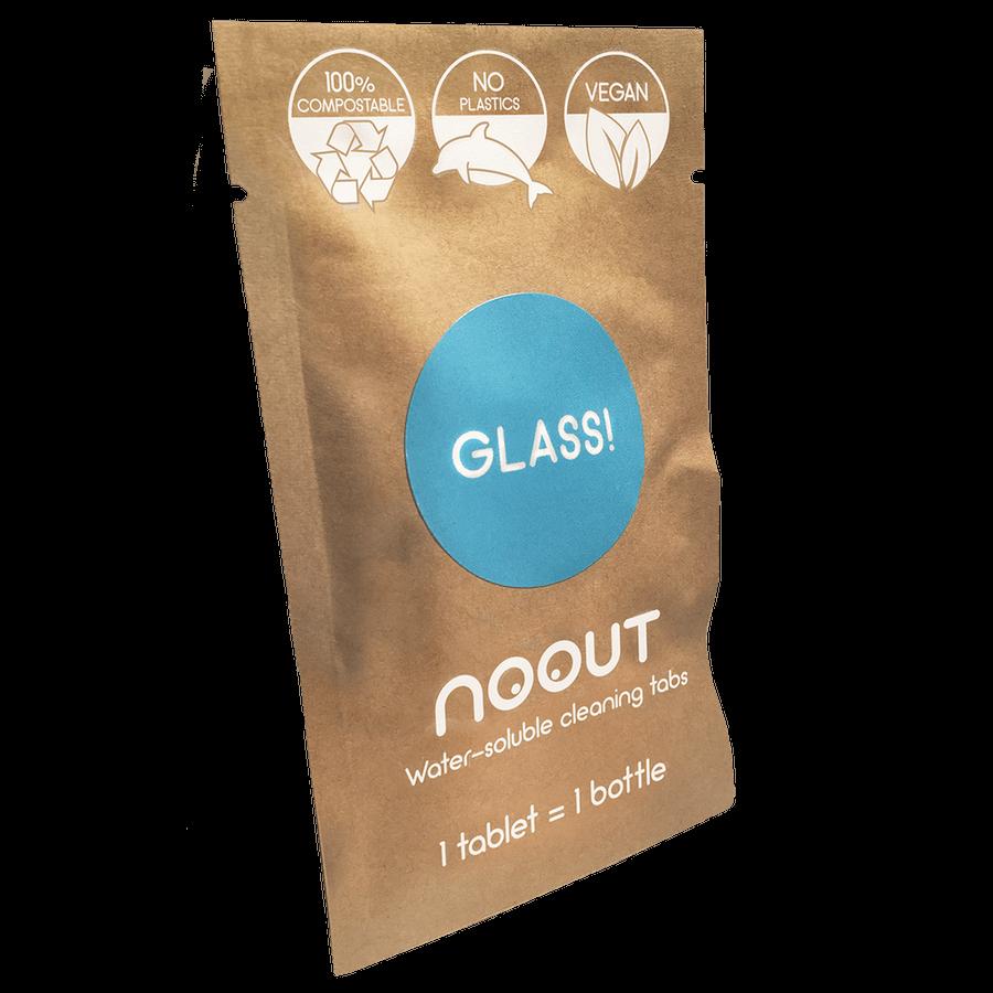 Природосъобразни таблетки за почистване на стъкло (пакет с 3 броя)