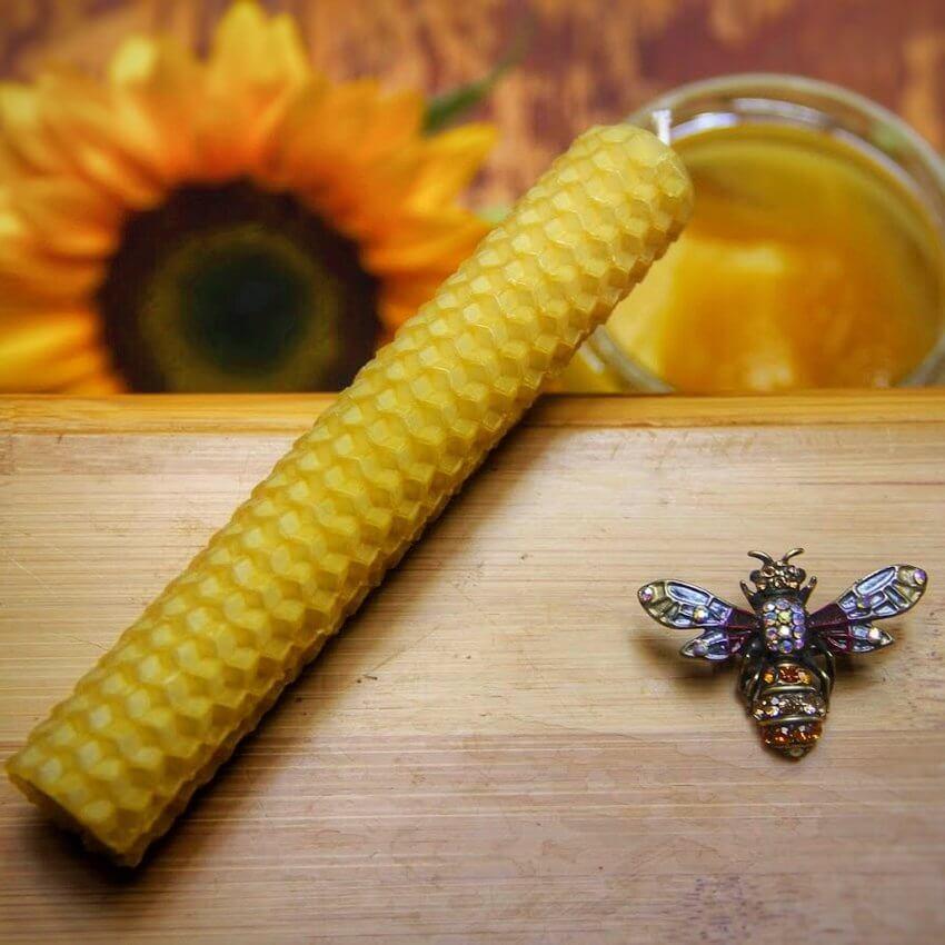 Био свещ(и) от пчелен восък - различни разфасовки
