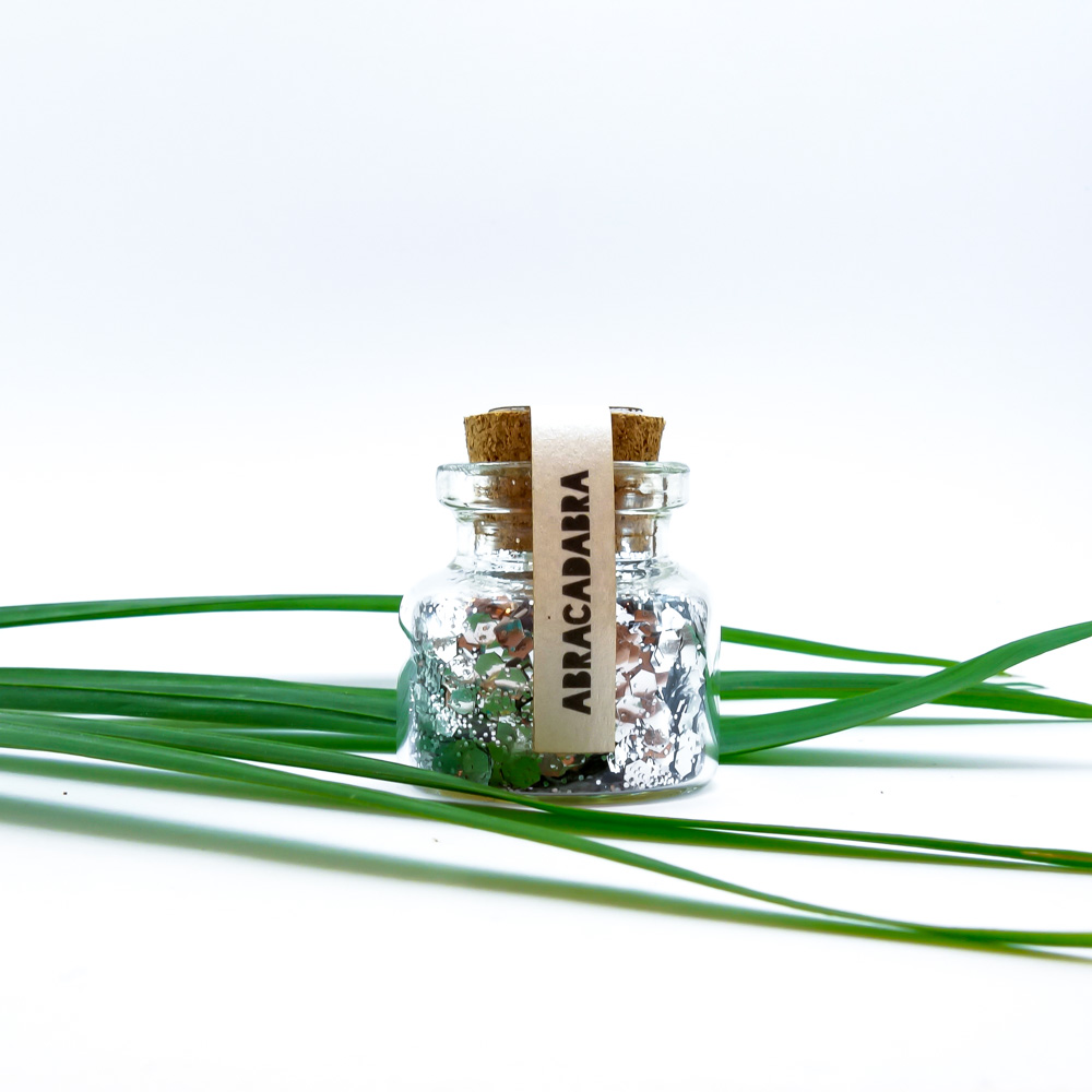 Биоразградим брокат Silver Lining-2