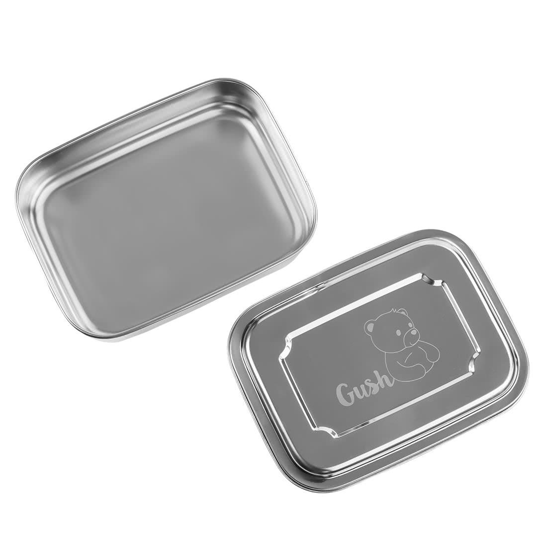 Стоманена кутия за храна 1200 ml-2