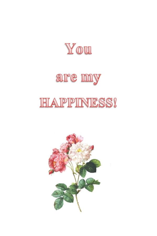 Картичка за засаждане Ти си Щастие (със семена от мак)-4